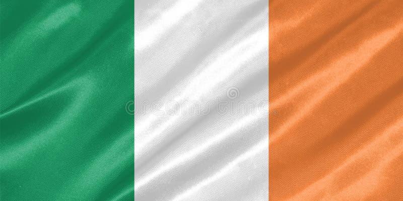 De Vlag van Ierland stock illustratie