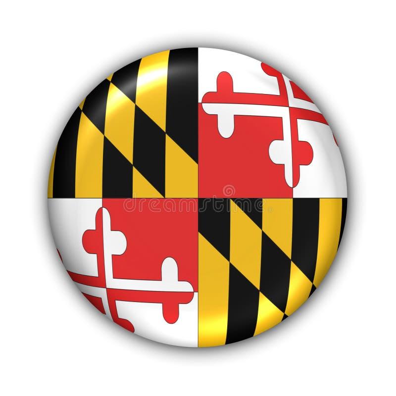 De Vlag van Maryland vector illustratie