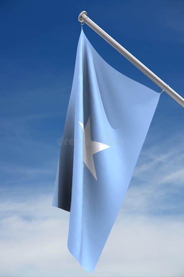 De Vlag van Somalië royalty-vrije stock foto