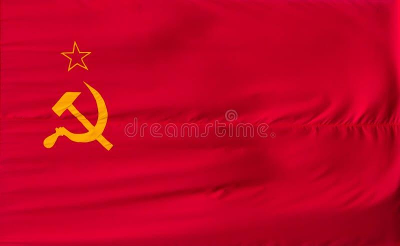 De vlag van Sovjetunie royalty-vrije stock fotografie