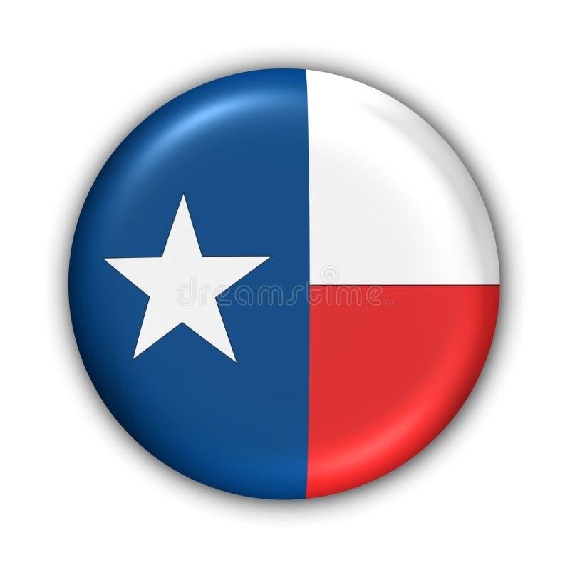 De Vlag van Texas royalty-vrije illustratie