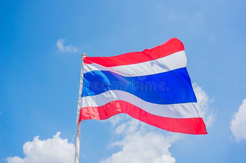 De Vlag van Thailand royalty-vrije stock fotografie