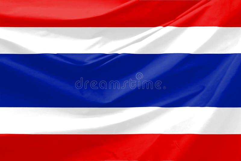 De Vlag van Thailand stock illustratie