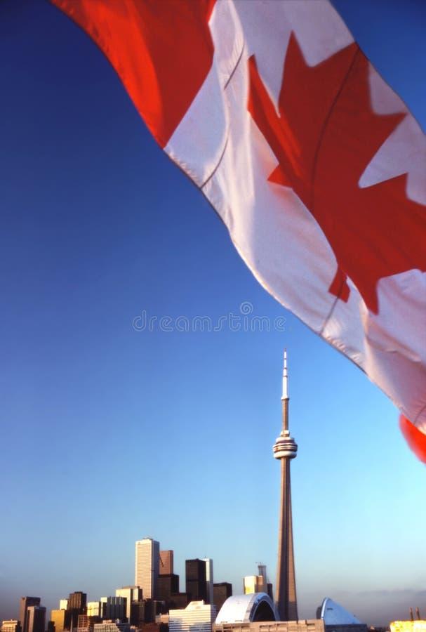 De Vlag van Toronto stock afbeelding