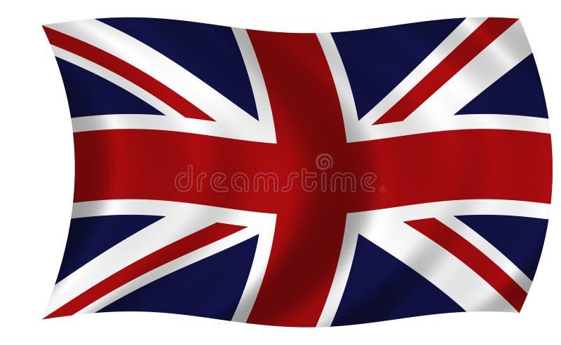 De Vlag van Union Jack vector illustratie