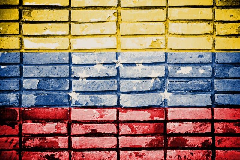 De Vlag van Venezuela stock afbeeldingen