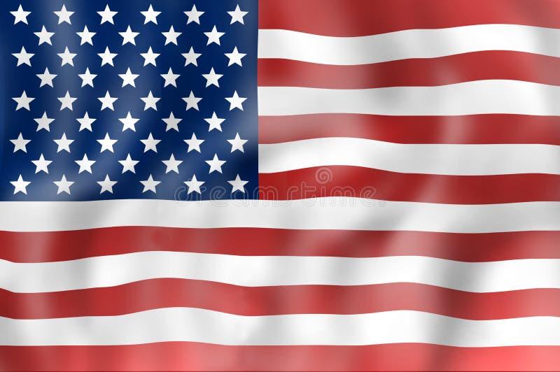 De vlag van Verenigde Staten stock fotografie