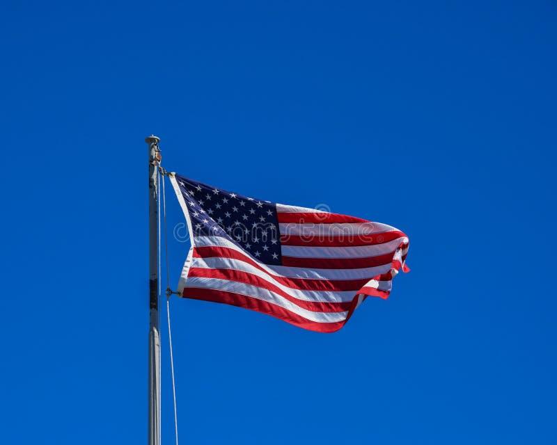 De vlag van Verenigde Staten royalty-vrije stock afbeeldingen