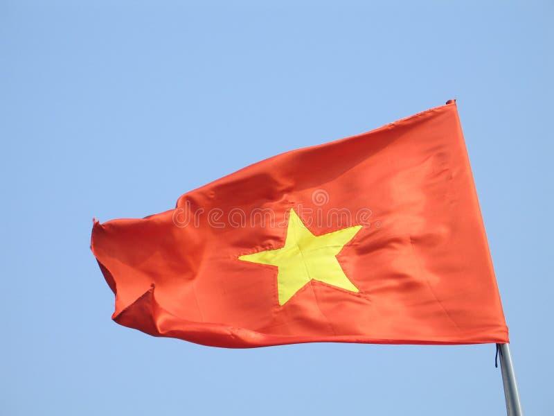 De vlag van Vietnam stock afbeelding