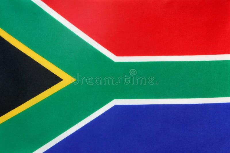 De vlag van Zuid-Afrika royalty-vrije stock foto's