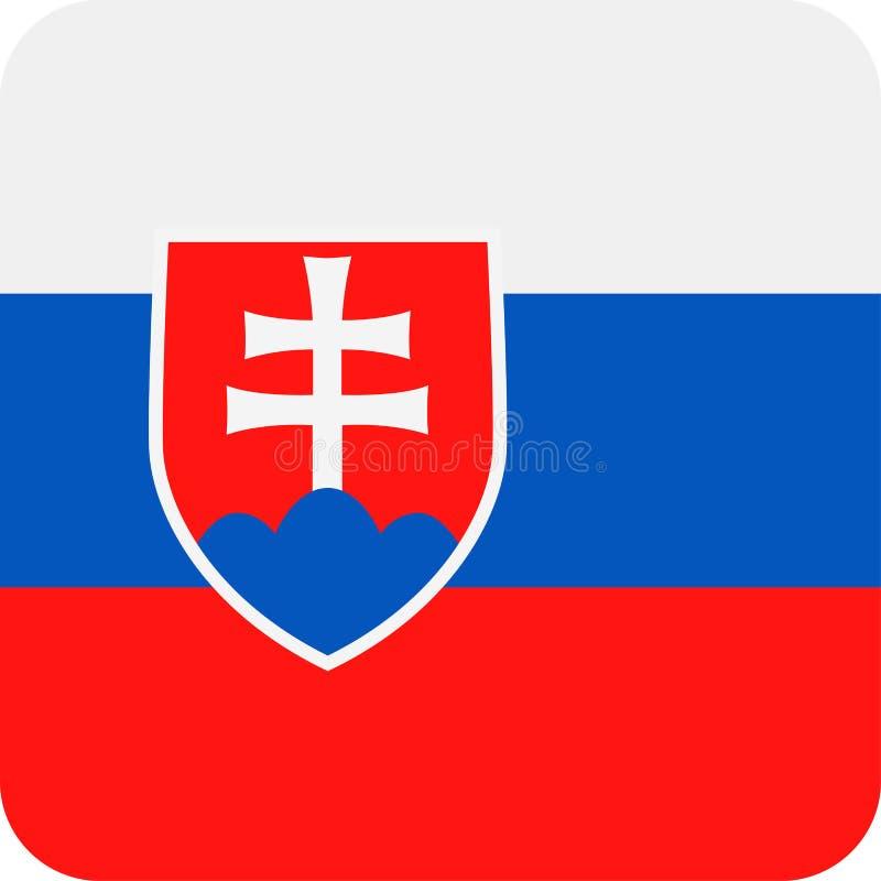 Download De Vlag Vector Vierkant Vlak Pictogram Van Slowakije Stock Illustratie - Illustratie bestaande uit teken, vierkant: 107702649