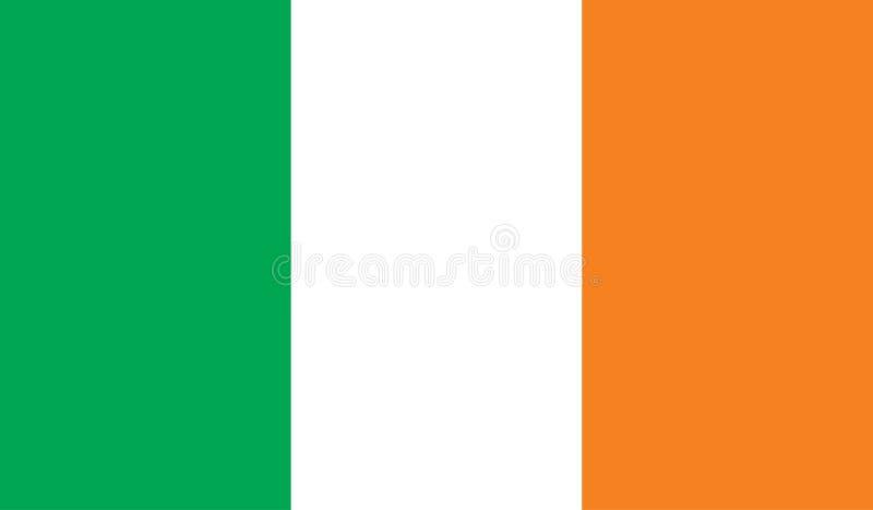 De vlagbeeld van Ierland royalty-vrije illustratie