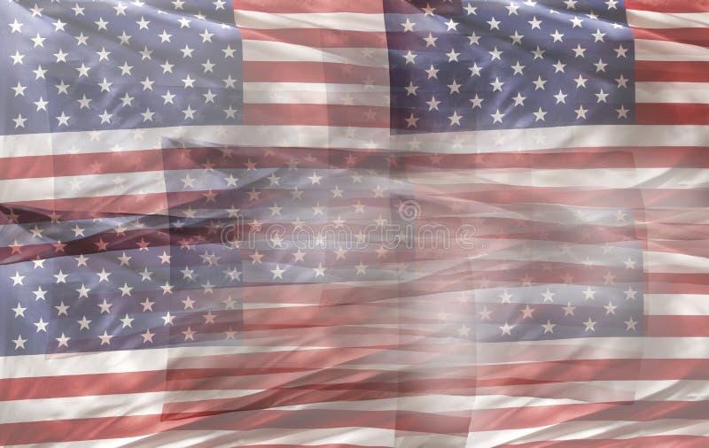 De vlaggen van de V stock afbeeldingen