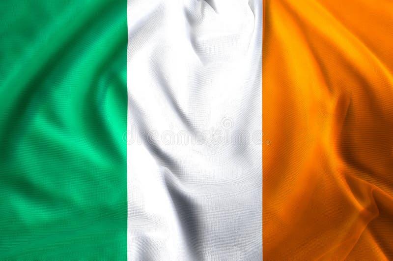 De vlagillustratie van Ierland stock illustratie