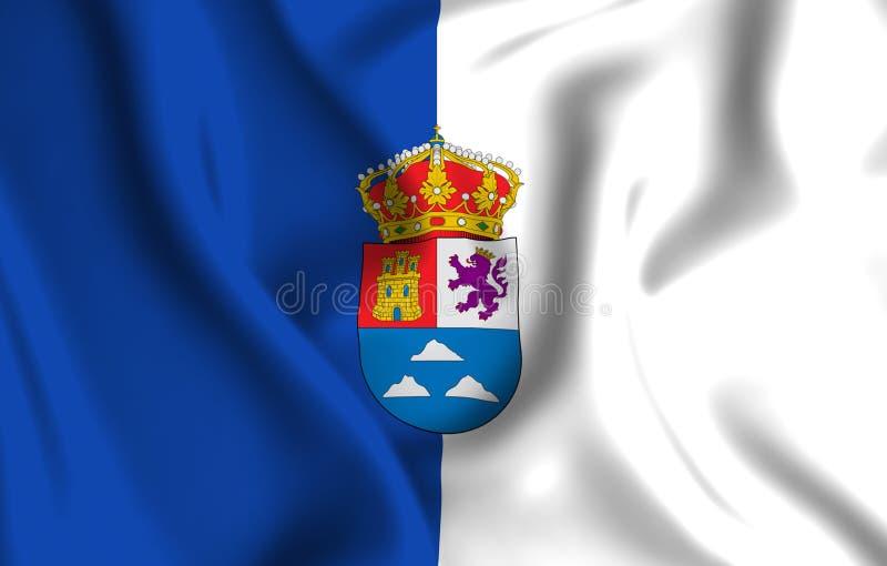 De vlagillustratie van Las Palmas stock illustratie