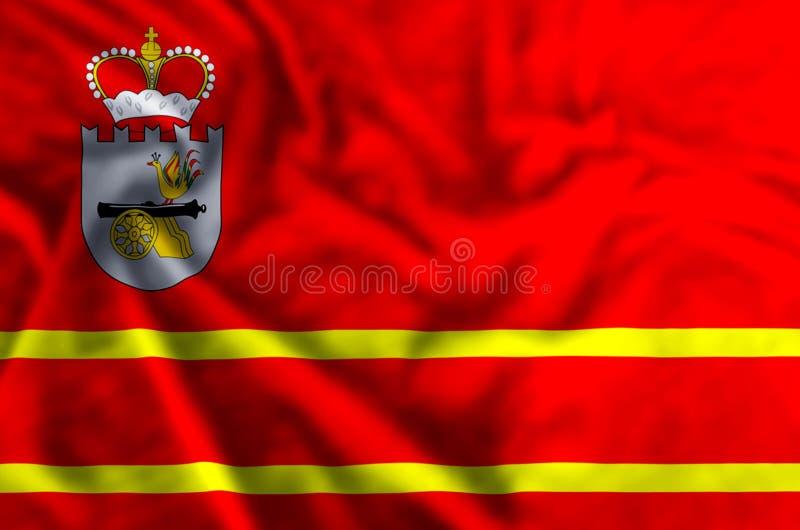 De vlagillustratie van Smolensk stock illustratie
