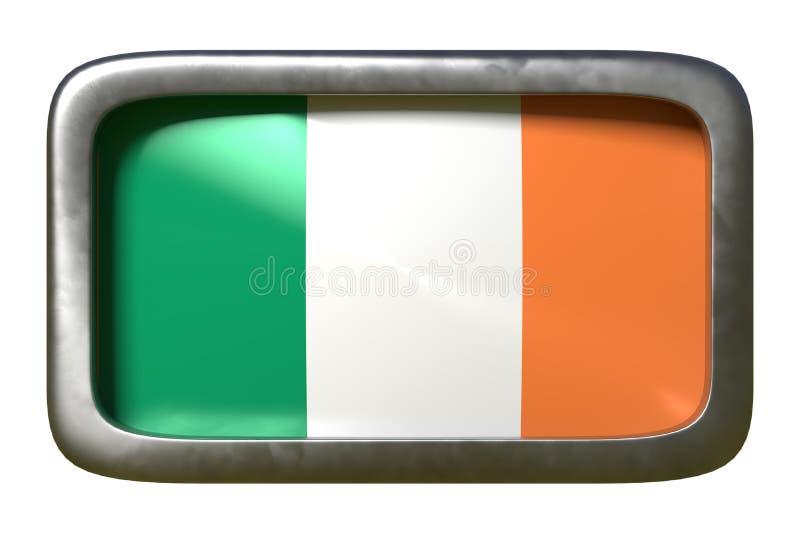 De vlagteken van Ierland royalty-vrije illustratie