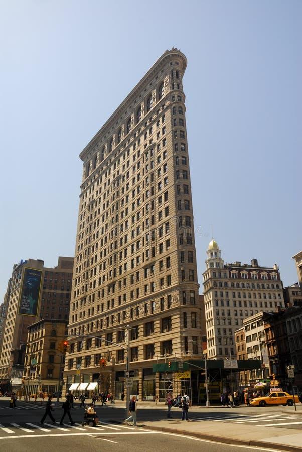 De vlakke Bouw van het Ijzer in New York royalty-vrije stock foto