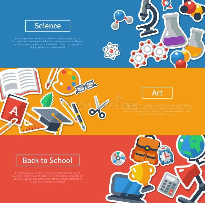 De vlakke concepten van de ontwerp vectorillustratie van vector illustratie