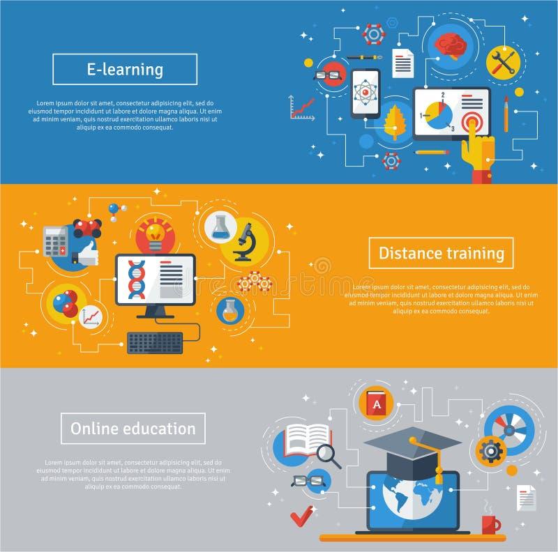 De vlakke concepten van de ontwerp vectorillustratie van royalty-vrije illustratie