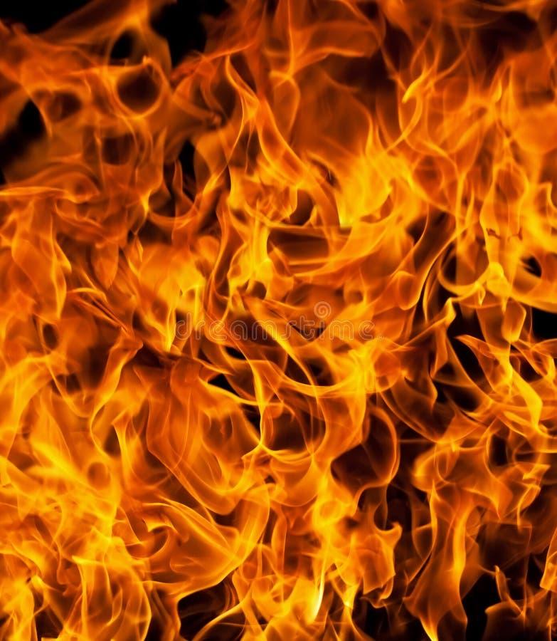 De vlammen van de brand