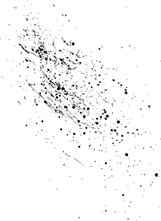 De Vlekken van de olie vector illustratie