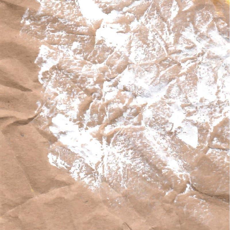 De vlekken van verf Achtergrond met gouache wordt geschilderd die stock fotografie