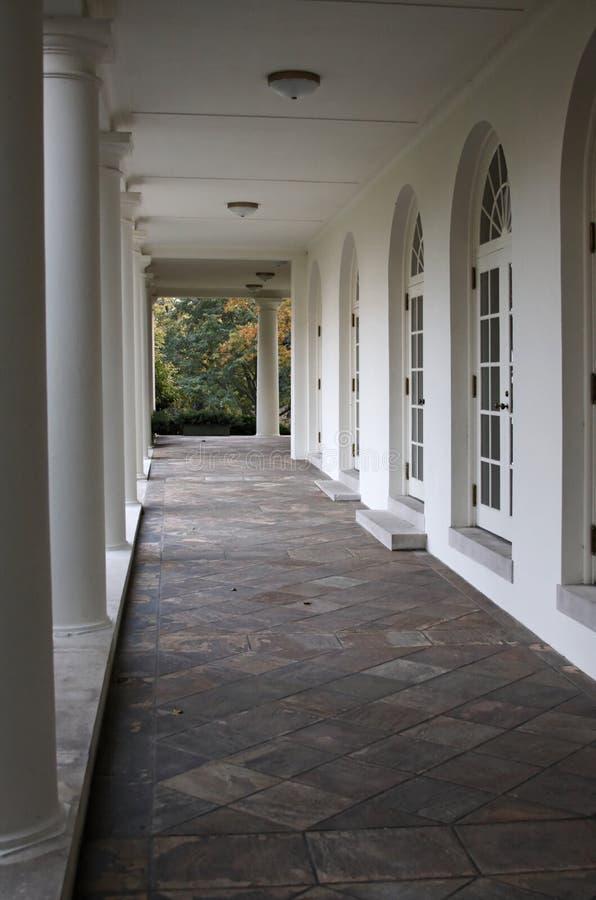 De Vleugel van het Westen van het Witte Huis royalty-vrije stock fotografie