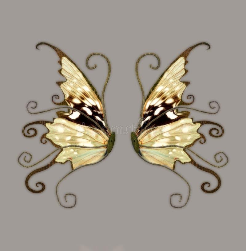 De Vleugels van de fantasie royalty-vrije illustratie