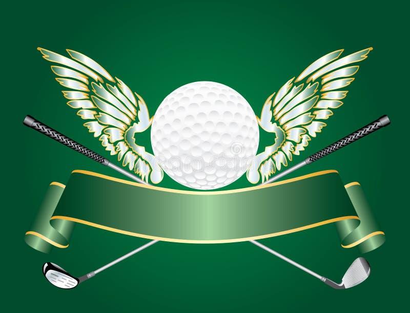 De vleugels van het golf royalty-vrije illustratie