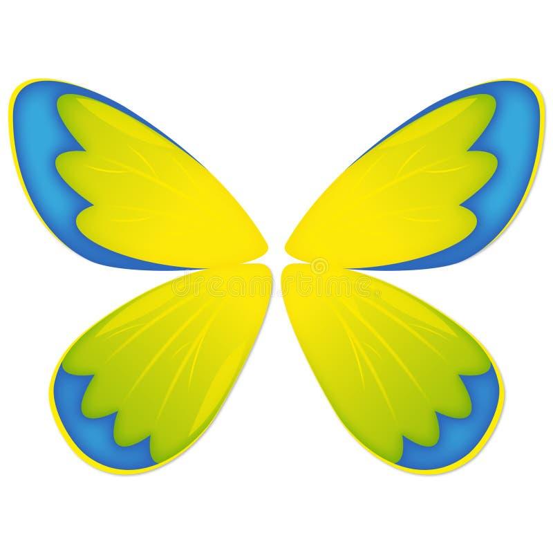 De vleugels voor uw vlinder stock illustratie