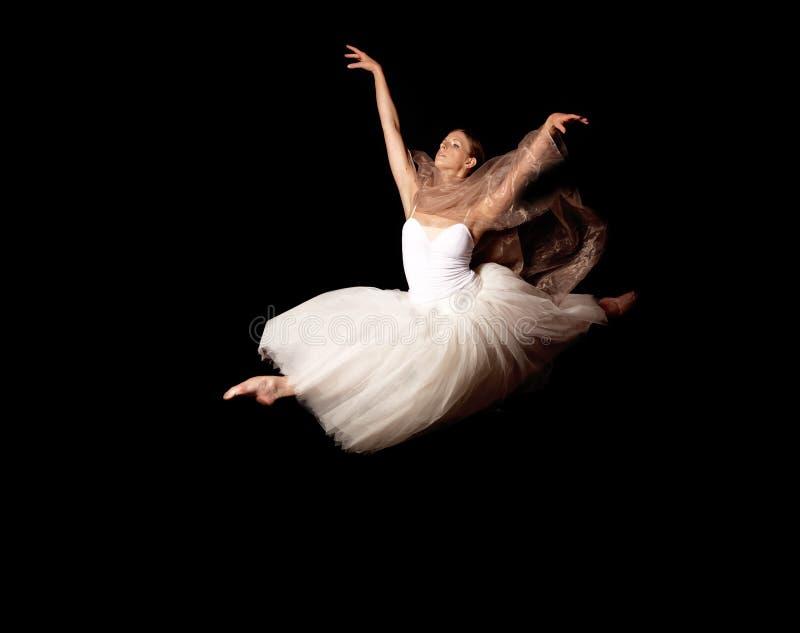De vlieg van de ballerina stock afbeeldingen