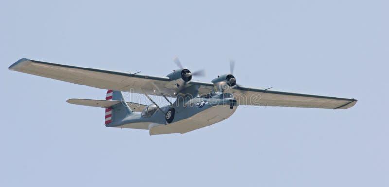 De vliegende boot van Catalina royalty-vrije stock afbeelding