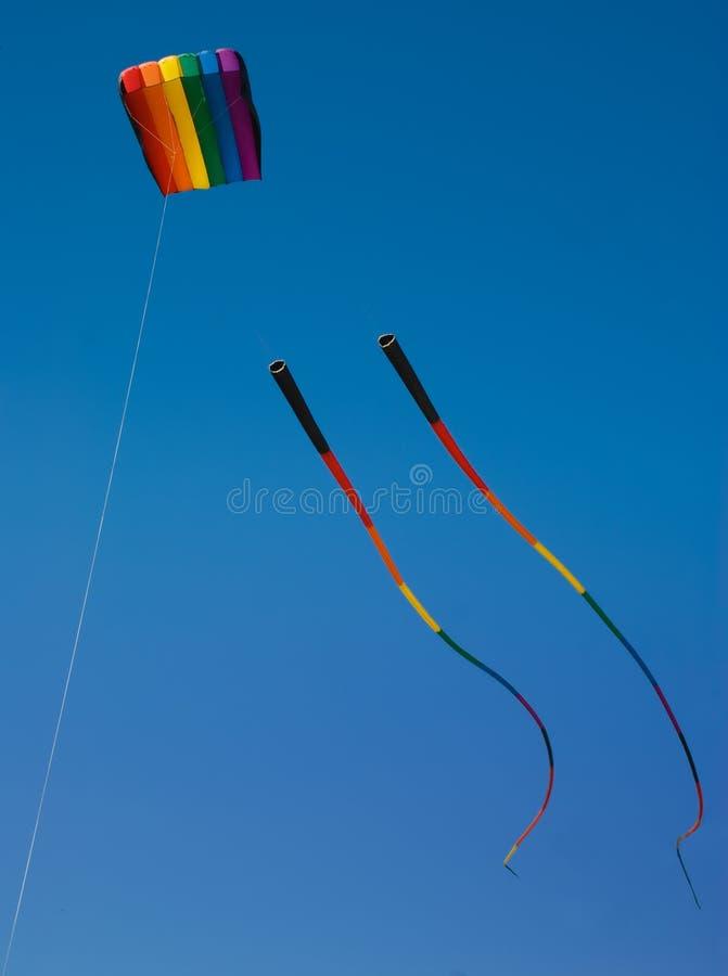 De Vlieger van de regenboog royalty-vrije stock afbeeldingen