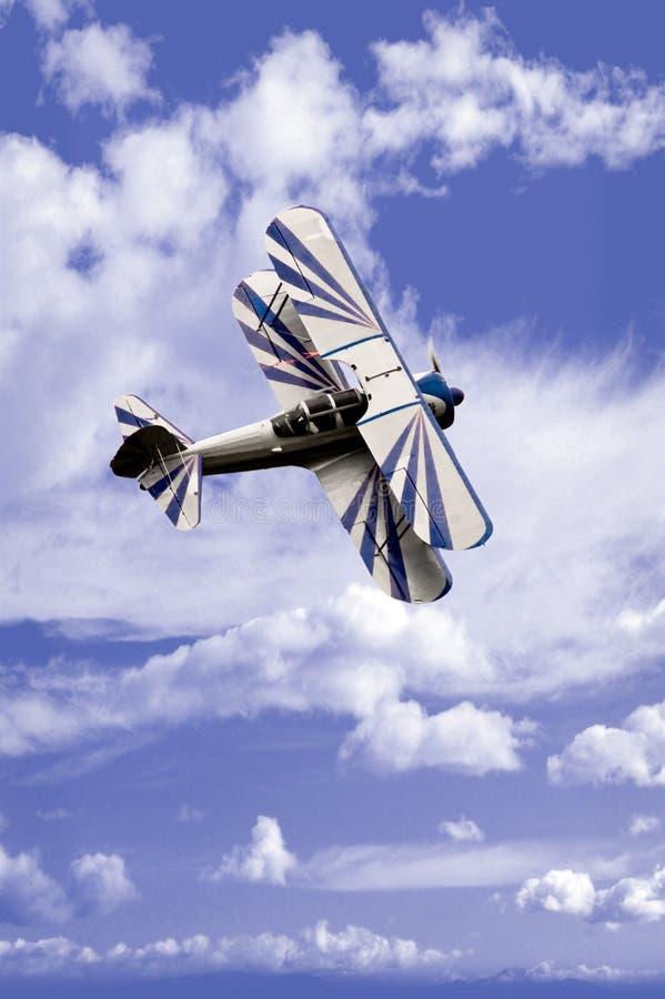 De Vlieger van de stunt stock fotografie