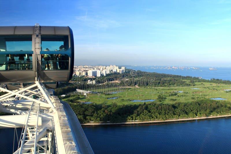 De vlieger van Singapore royalty-vrije stock foto's