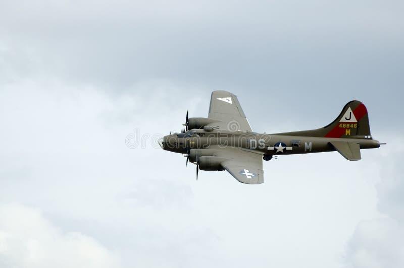De vliegtuigen van WO.II in Duxford airshow stock fotografie