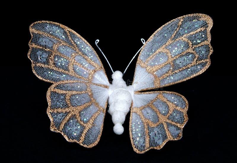 De Vlinder van de zijde stock fotografie