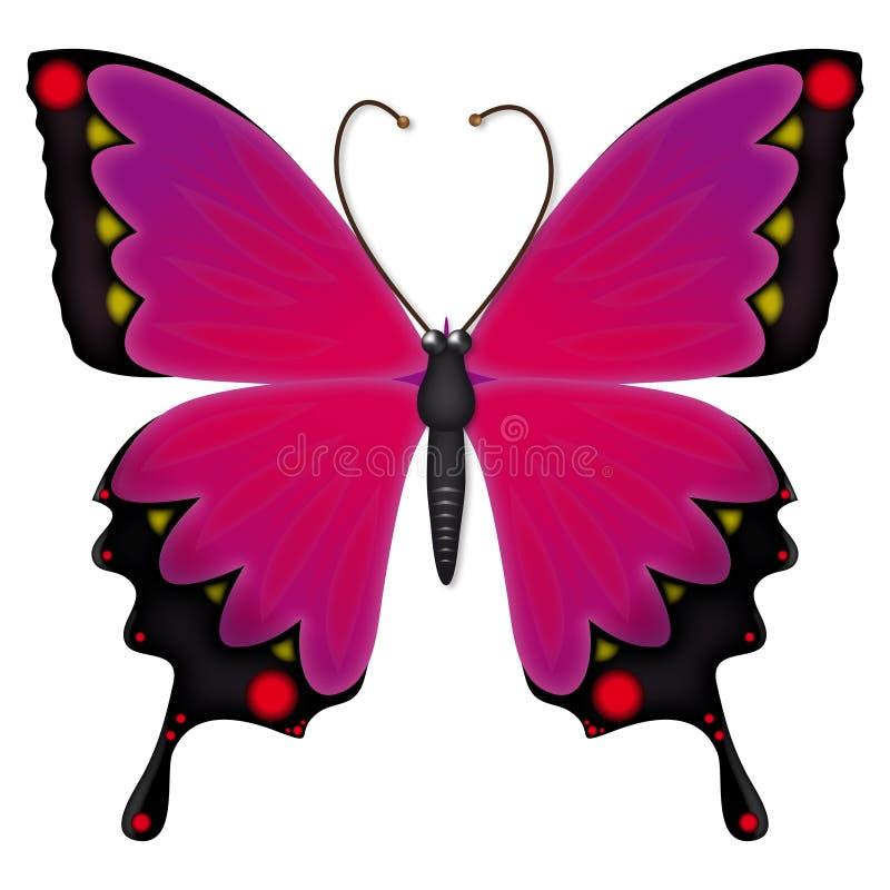 De vlinder van Emo vector illustratie