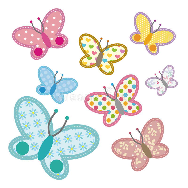 De Vlinder van het patroon vector illustratie