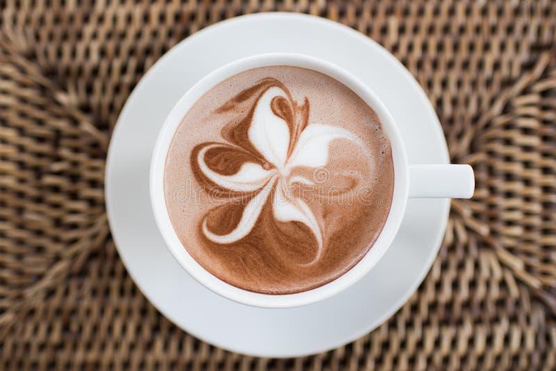 De Vlinderboom van de koffiekunst royalty-vrije stock foto