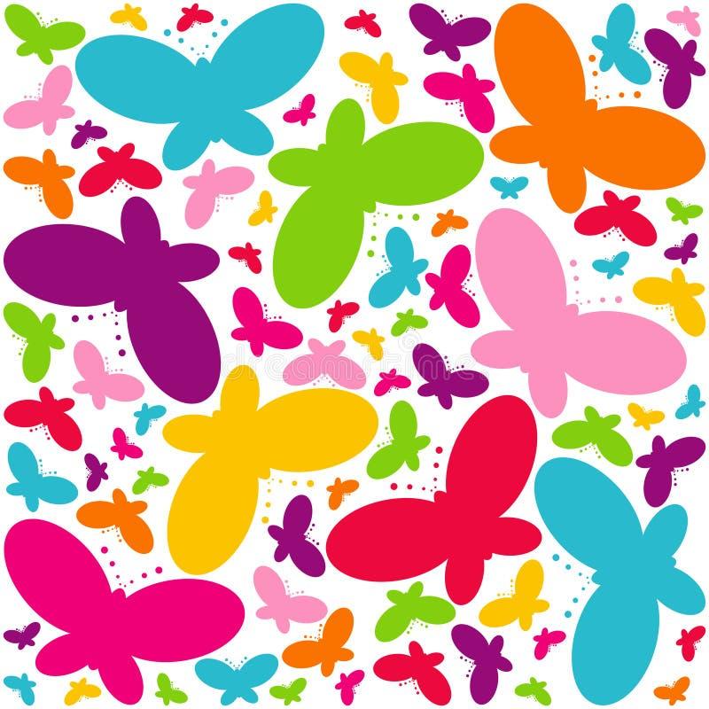 De vlinders van de chaos royalty-vrije illustratie