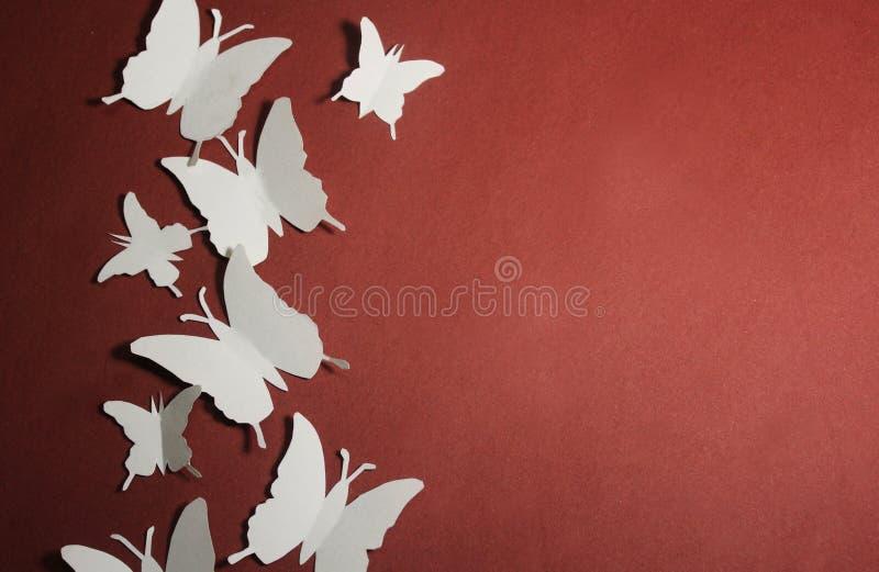 De vlinders van het document royalty-vrije stock foto's