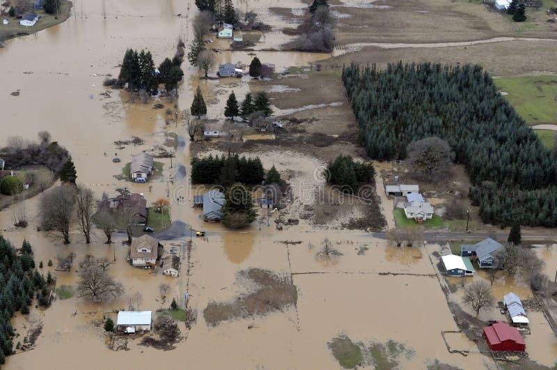 De Vloed van de Staat van Washington stock foto's