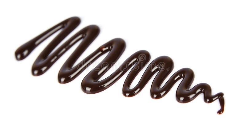 De vloeistof van de chocolade royalty-vrije stock foto's