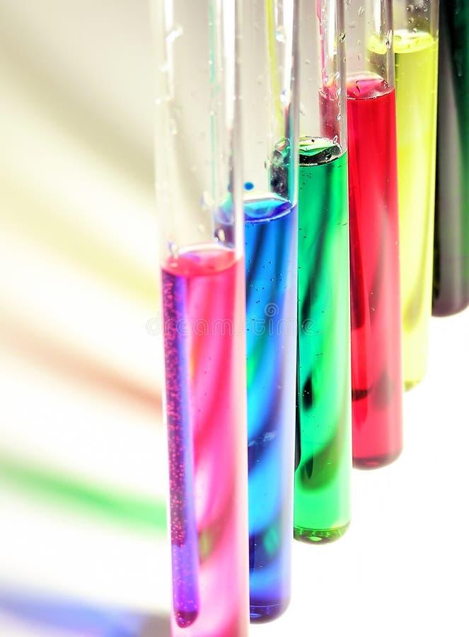 De vloeistof van de kleur stock afbeelding
