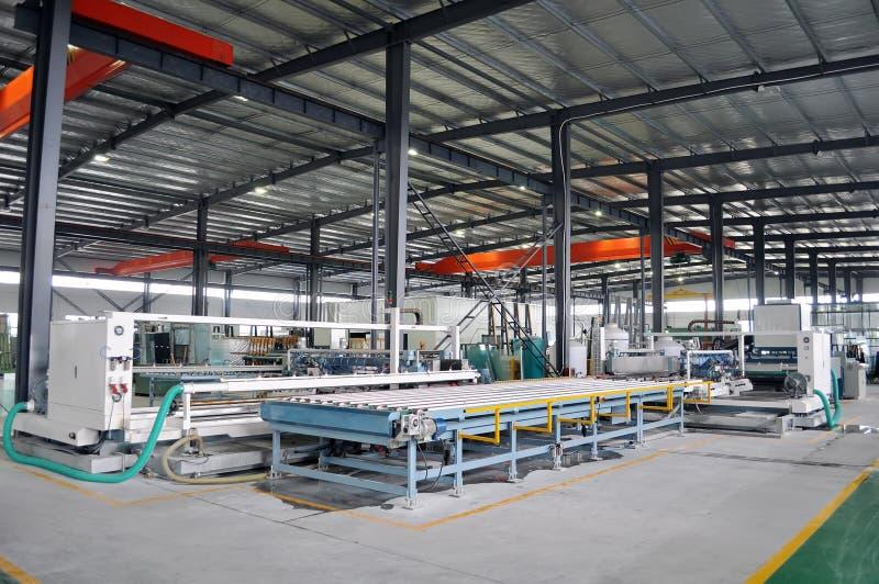 De vloer van de fabriek stock foto's