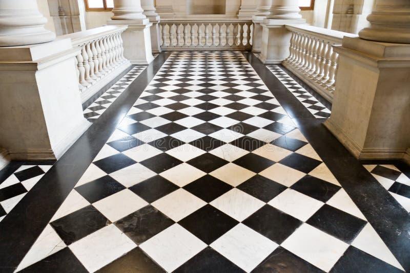 De vloer van de ruit stock afbeelding