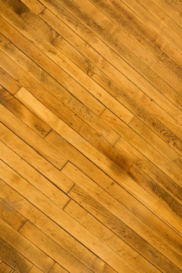 De vloer van het hardhout.