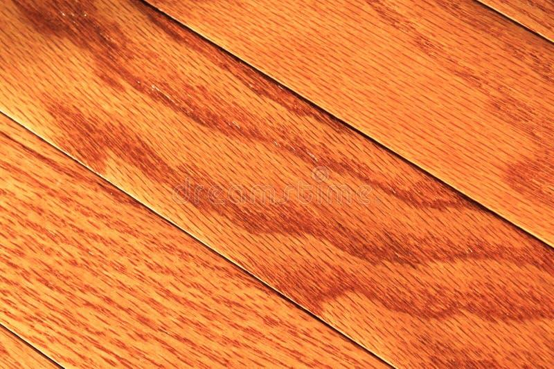 De Vloer van het hardhout stock fotografie